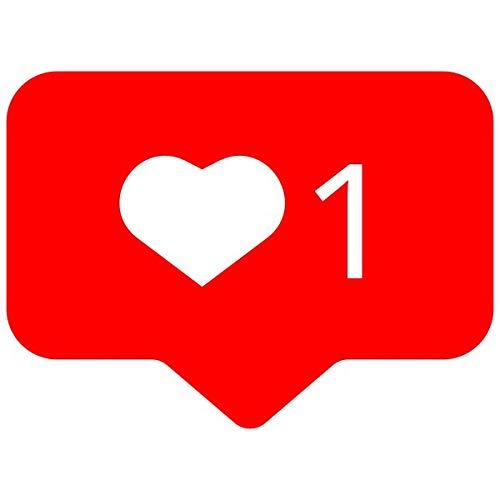 Funny Social Media Teacher Stamps, Facebook & Instagram Teacher Stamps (Instagram Heart Stamp)