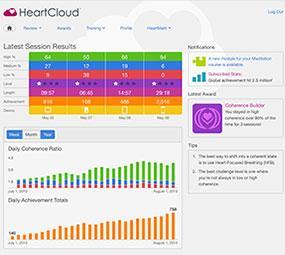 HeartMath HeartCloud online platform