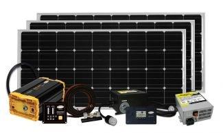 Go Power GPOSOLAR EXTREME 480W Solar & 3000W Inverter System