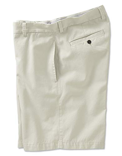 Orvis Men's Signature Chinos Cotton Shorts, Stone, 36