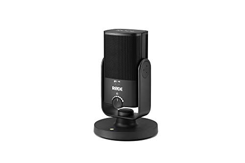 Rode NT-USB Mini Studio quality USB Microphone for podcasting, streaming, musician, gaming, voice over