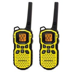Motorola MS350R 35-Mile Talkabout Waterproof 2-Way Radio...