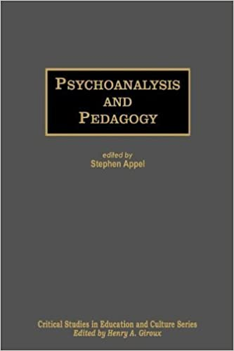 Book Psychoanalysis and Pedagogy (Critical Studies in Education and Culture)