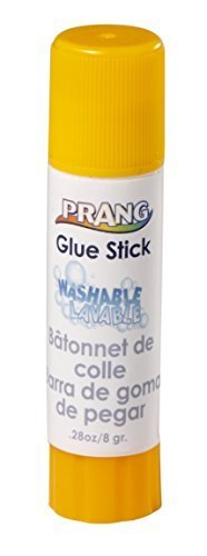 Prang Glue Stick, Small, 0.28 Ounces, Clear (15083) by Prang