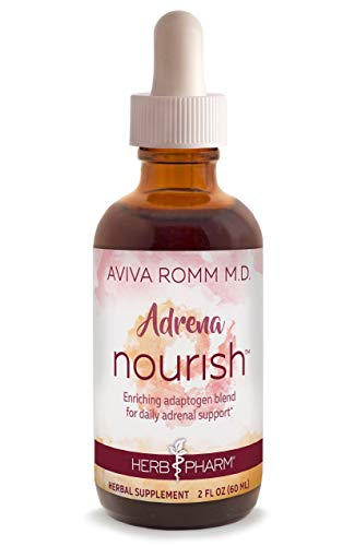 Herb Pharm Adrena Nourish Adaptogen Blend for Daily Adrenal Support Created in Collaboration with Dr. Aviva Romm, M.D. ()