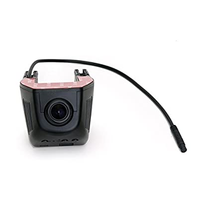Dasaita 1080P DVR Dash Camera Hidden Installation Camera Video Recorder Kit: GPS & Navigation