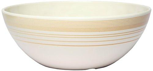 Melange 6-Piece 100% Melamine Bowl Set (Gold Timber Collection )   Shatter-Proof and Chip-Resistant Melamine Bowls