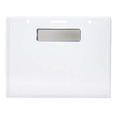 (AmazonBasics Magnetic Badge Holder - Horizontal, 20-Pack)