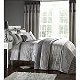 Catherine Lansfield Home Signature Silver Gatsby King Size Quilt Set by Catherine Lansfield
