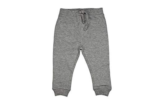 Mish Mish Sweatpants - Boys Solid Fleece Sweat Pants - Heather Gray