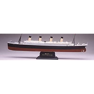 Revell 85-0445 1/570 RMS Titanic Plastic Model Kit, 18.6 x 1.9 x 3.7-Inch: Toys & Games