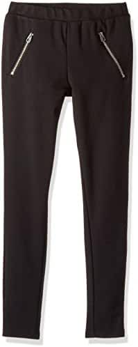 Splendid Girls' Slim Size Ponte Legging Front Zipper