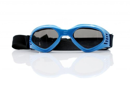Namsan Stylish And Fun Pet/Dog Puppy UV Goggles Sunglasses Waterproof Protection Sun Glasses For Dog -Blue