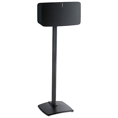 Sanus Wireless Speaker Stands designed for SONOS Play:5 (Black) by Sanus