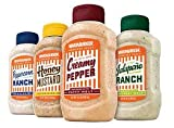 Whataburger Creamy Pepper Signature Sauce, 15.5 Oz., (Pack of 6)