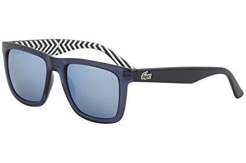 Lacoste L750S Wayfarer Sunglasses, Blue, 54 mm