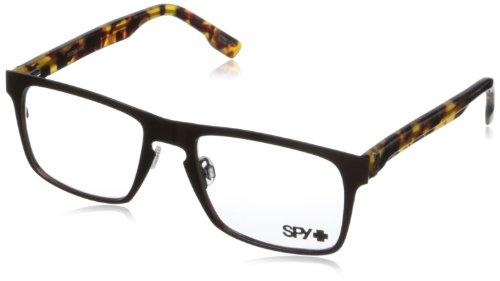 Spy Damon Rectangular Eyeglasses,Mahogany,53 - Sunglasses Outlet Spy