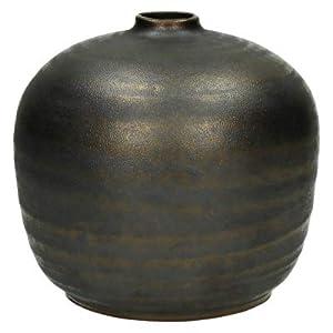 Stylish Cover Vaso Ceramica Colore Bronzo, Modello Sfera mm, Diametro 16–H16