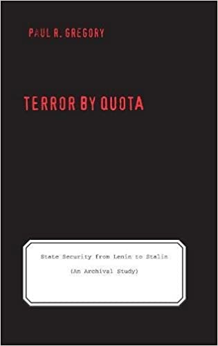 Amazon terror by quota state security from lenin to stalin terror by quota state security from lenin to stalin an archival study yale hoover series on authoritarian regimes 1st edition edition fandeluxe Choice Image