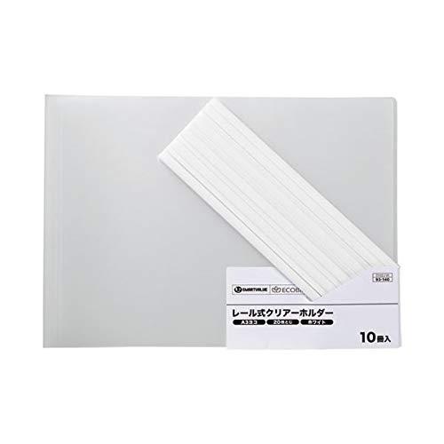 (まとめ) スマートバリュー レールホルダー再生 A3E白100冊 D102J-10W【×3セット】 生活用品 インテリア 雑貨 文具 オフィス用品 ファイル バインダー その他のファイル 14067381 [並行輸入品] B07PGW678B
