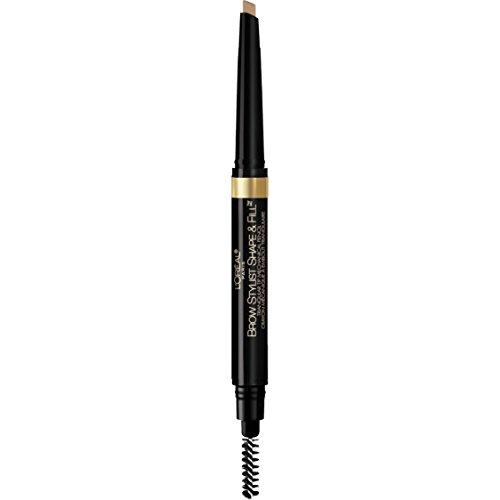 (L'Oréal Paris Brow Stylist Shape & Fill Pencil, Blonde)