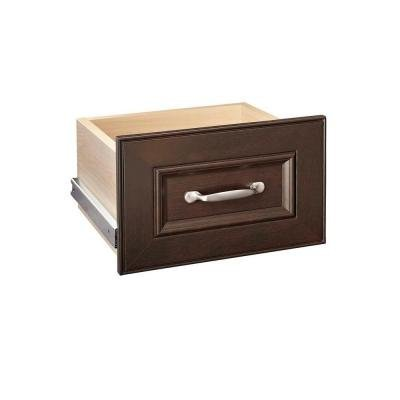 ClosetMaid 30601 Impressions 16 in. Chocolate Narrow Drawer Kit