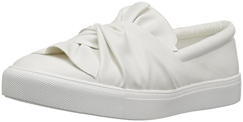 MIA Women's Zoe Fashion Sneaker, White