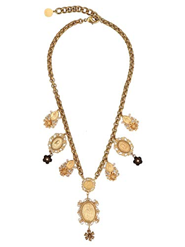 Dolce & Gabbana Gold Necklace - Dolce E Gabbana Women's Wng6m2w0001zoo00 Gold Metal Necklace
