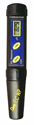 Milwaukee Waterproof Conductivity EC/Temp Tester with Replaceable Electrode