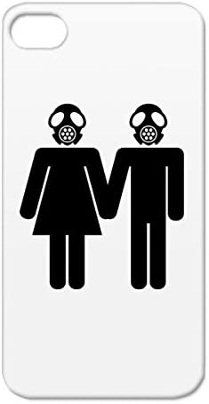 Toxic Love Satire Gas Mask Funny Toxic Love Poison Danger Couple