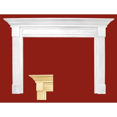 Franklin MDF Primed Fireplace Mantel Surround Shelf Length: 36