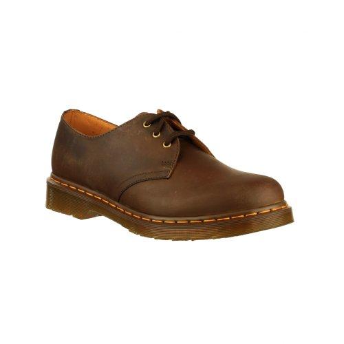 Dr. Martens 1461 Crazy Horse, Zapatos de Cordones Oxford para Hombre multicolor - Gaucho