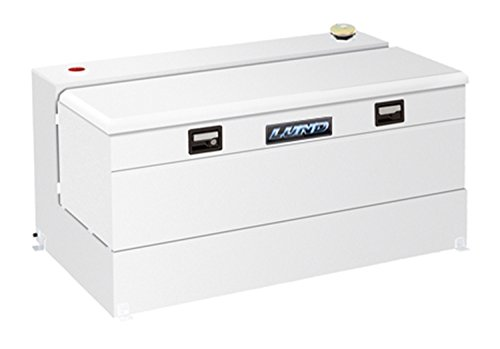"Lund 86510 48"" L-Shaped Liquid Storage Combo Box - 100 Gallon Capacity"