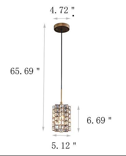 Smart Lighting-Shupregu 1-light Pendant Lighting, Crystal