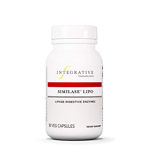 Integrative Therapeutics - Similase Lipo - Physician Developed Lipase Enzyme Supplement - Promotes Fat Digestion - 90 Vegetable Capsule