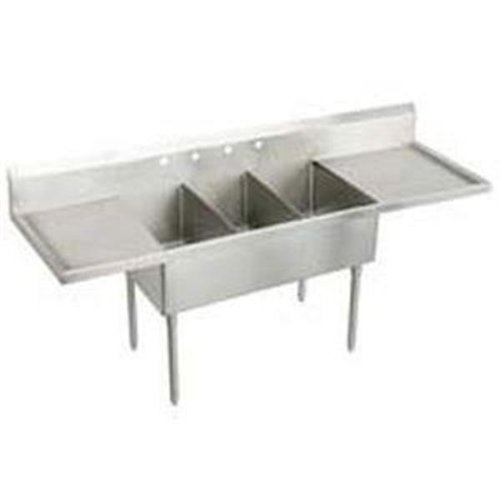 Compartment Scullery Sink - 4
