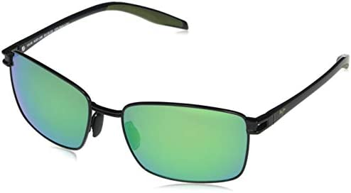 Maui Jim Men's Cove Park Rectangular Sunglasses