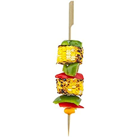 10 Inch Bamboo Paddle Skewers Perfect For Commercial And Backyard Grilling Natural Color 1000 CT Biodegradable And Eco Friendly Restaurantware