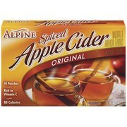 Alpine Spiced Apple Cider Original Instant Drink Mix, 10ct(Case of - Alpine Filter