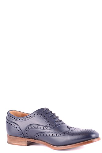 Churchs Ladies Mcbi069129o Scarpe Stringate In Pelle Blu
