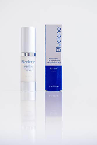 Anti Aging Eye Cream, Bluelene. Revolutionary Eye Cream Moisturizer with Methylene Blue for Wrinkles 15 ml