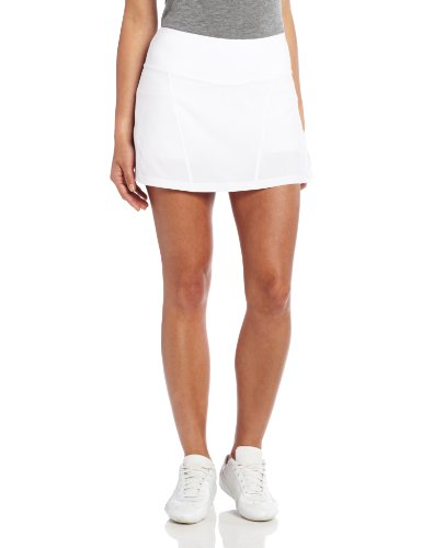 (Bolle Women's Essentials Woven Fabric Pull On Skirt, White, Small)