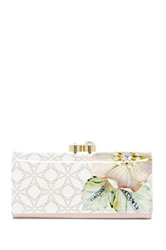 Ted Baker London Gem Gardens Patent Matinee Leather Purse by Ted Baker