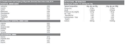 RAW Australian Made Organic Slim and Tone Protein (Vanilla & Cinnamon, 500g)