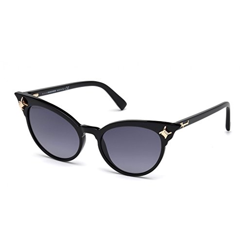 DSquared2 Kanye DQ0239 C53 01B (shiny black / gradient smoke)