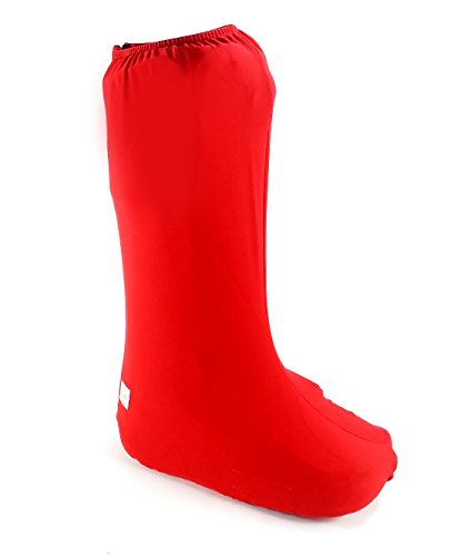 My Recovers Walking Brace Cover, Fashion Cover in Red, Tall Boot, Made in USA, Orthopedic Products Accessories (Small)