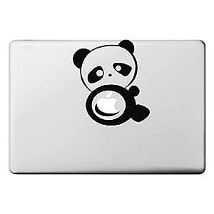 "tubanliudongdong Panda Pattern Apple Mac Decal Skin Sticker Cover for 11"" 13"" 15"" MacBook Air Pro"
