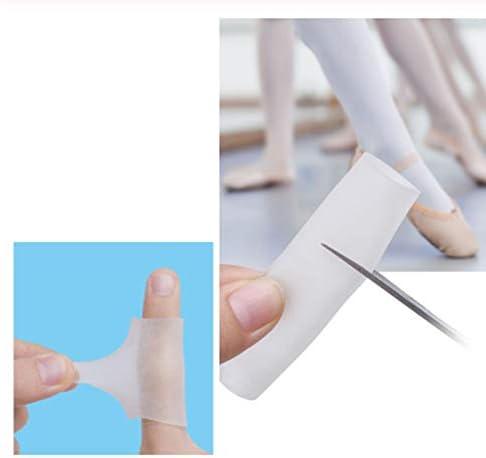 ACAMPTAR 10 StüCk Silikongel Finger Tube Protektor ZehenhüLsen Zur Reibungslosen Schmerz Linderung Fu? Pflege Werkzeug Finger Schutz
