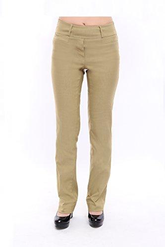 Womens Bootcut Khaki Pants - 7