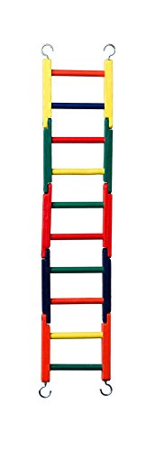 Prevue Pet Products Carpenter Creations Jointed Wood Ladder,